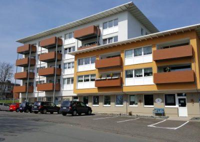 2 Zi.-Wohnung 46 m² (126/0011107) 2.OG li., mit Balkon