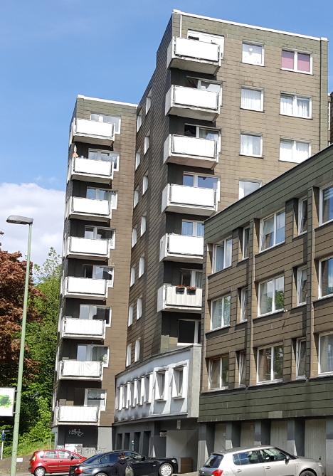 4 Zi.-Wohnung 88m² (116/0010502) 2.OG li., mit Balkon und Aufzug